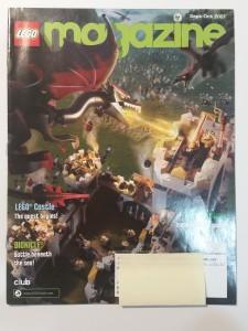 September October 2007 Lego Magazine Cover
