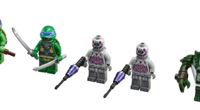 Mega Bloks is re-acquiring the Teenage Mutant Ninja Turtle licence and Lego is losing it.  No more Lego TMNT minifigures.
