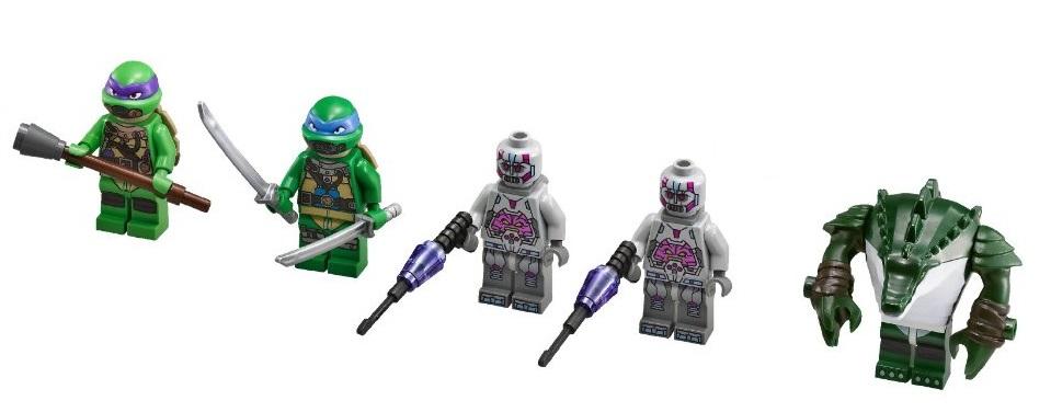 Lego retiring Teenage Mutant Ninja Turtles sets