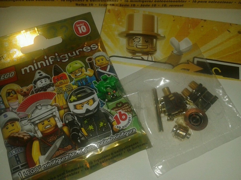 Lego Mr Gold Number 1441