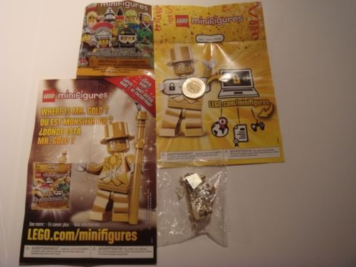 Lego Mr Gold Number 3981