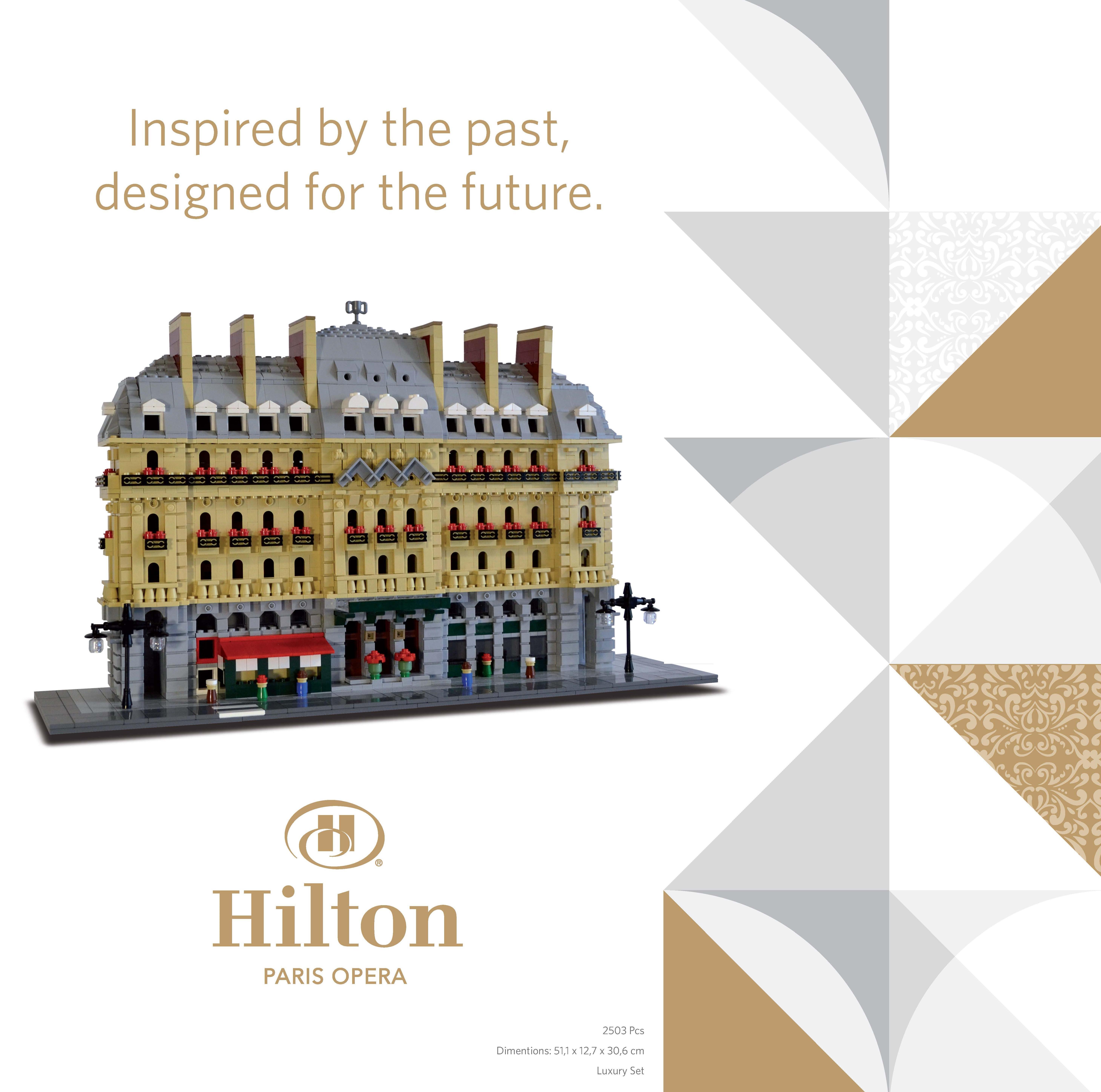 Lego Hilton Paris Opera boite