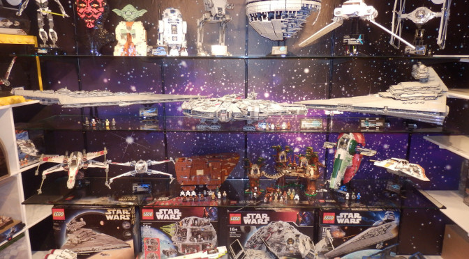 Look What 37000 Will Buy You One Complete Collection Of Lego Star