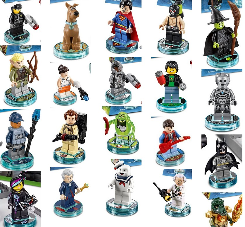 Lego Dimensions has 22 Unique Figures that are not anywhere else ...