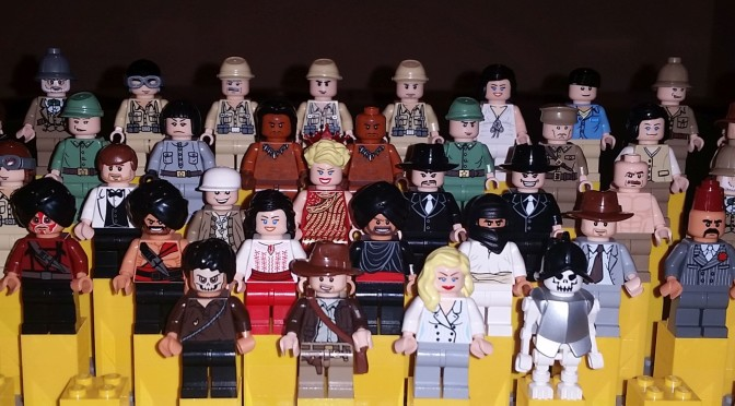 Lego Complete Indiana Jones Minifigure Collection – How it came to ...