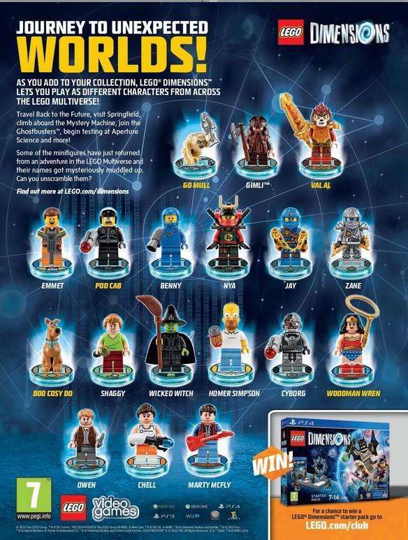 Lego Dimensions Ad