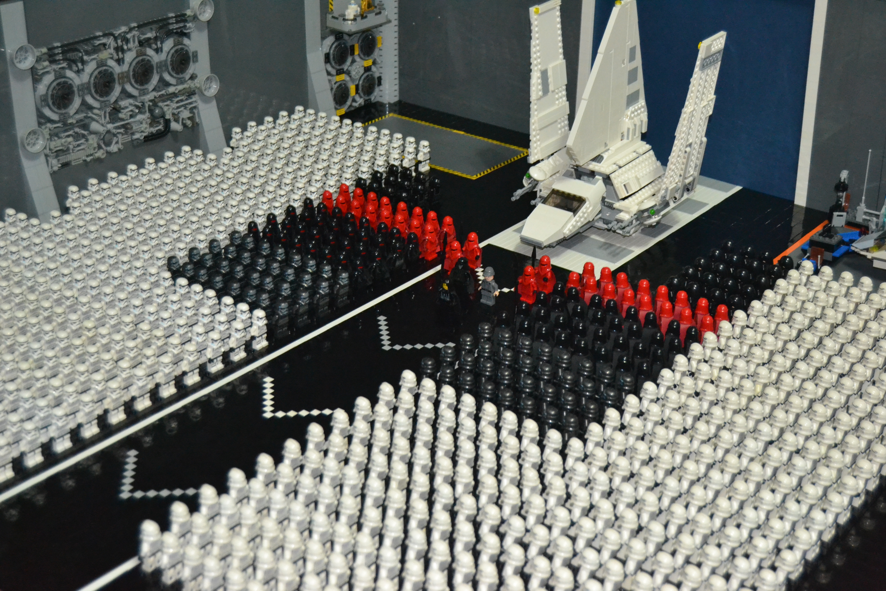 Lego Star Wars Death Star Hanger From Rotj Minifigure Price Guide