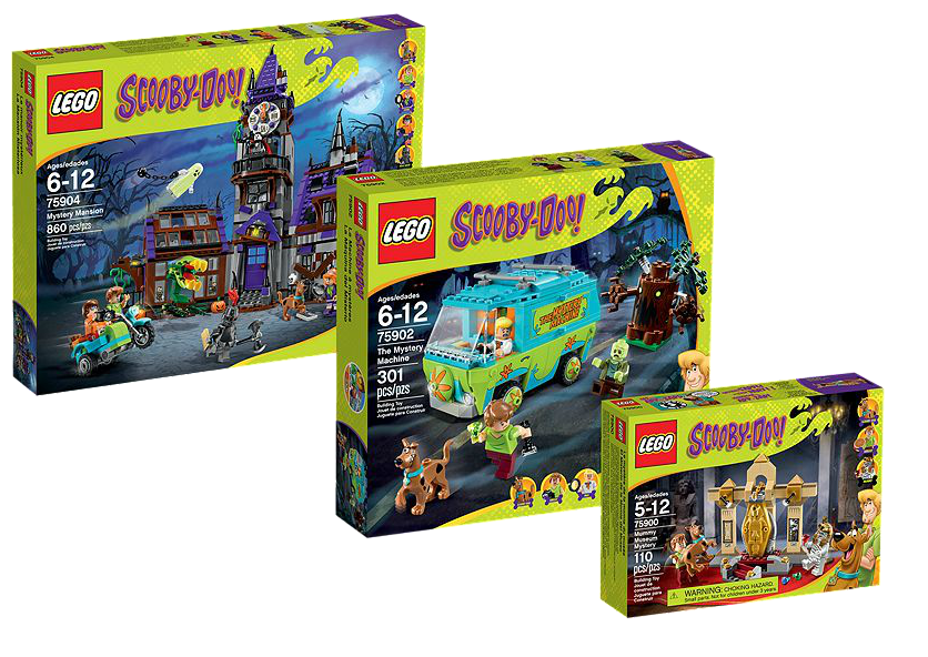 Lego Scooby Doo Collection 20 Percent Off | Minifigure ...