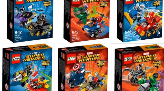 Lego Marvel and DC Mighty Micros Sets Box Art Images 76061 76062 ...