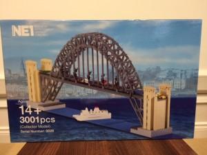 Limited Edition LEGO Brick Tyne Bridge Model created by Bright Bricks Box