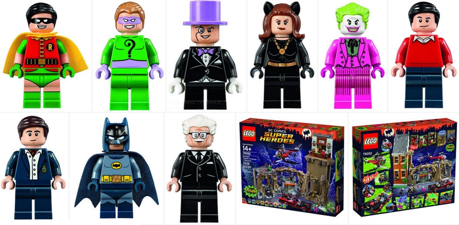 LEGO 76052 Batman Classic Batcave VILLAINS Riddler Joker Penguin Minifigure