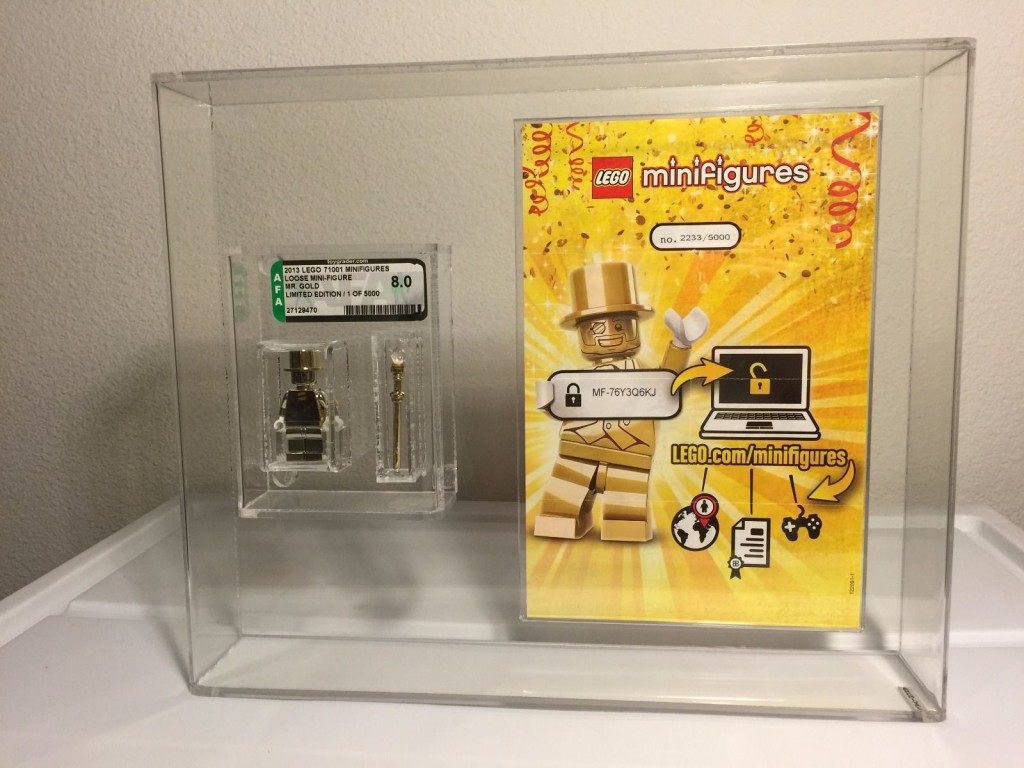 Lego Mr Gold Number 2233a