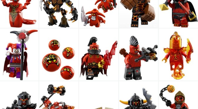 28 nexo knights minifigures found out on lego site bad guys first