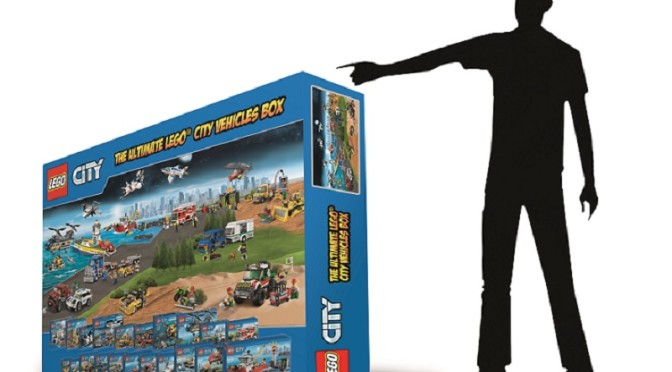 Lego 5268 Piece 1 Meter Tall City set Promotion going on over on ...