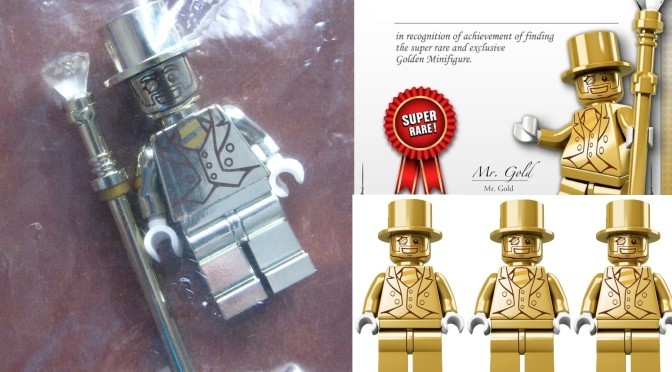 Four Lego Mr Gold Minifigures over on Amazon in the US – what are ...