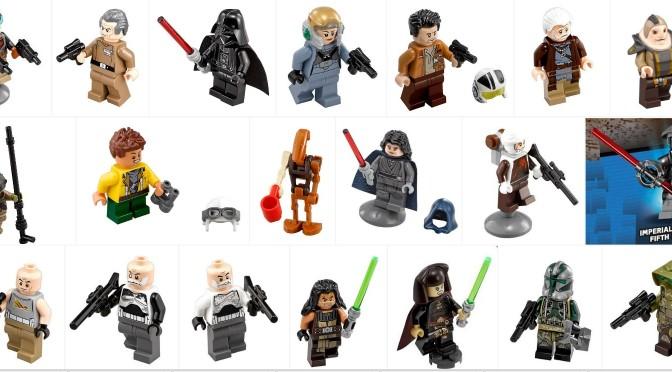 Summer 2016 Lego Star Wars Hi Resolution Minifigure Images ...