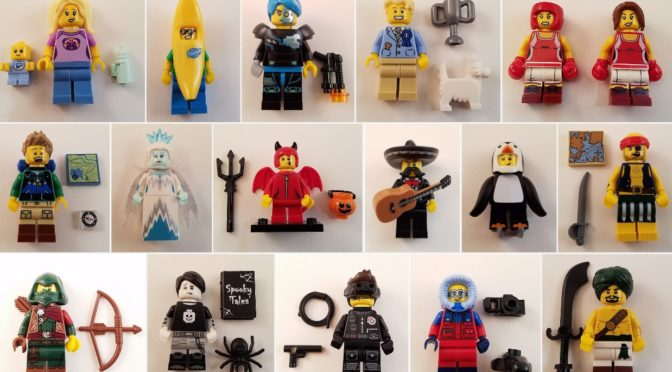 Lego Series 16 71013 Images – Box Distribution and Feel Guide ...