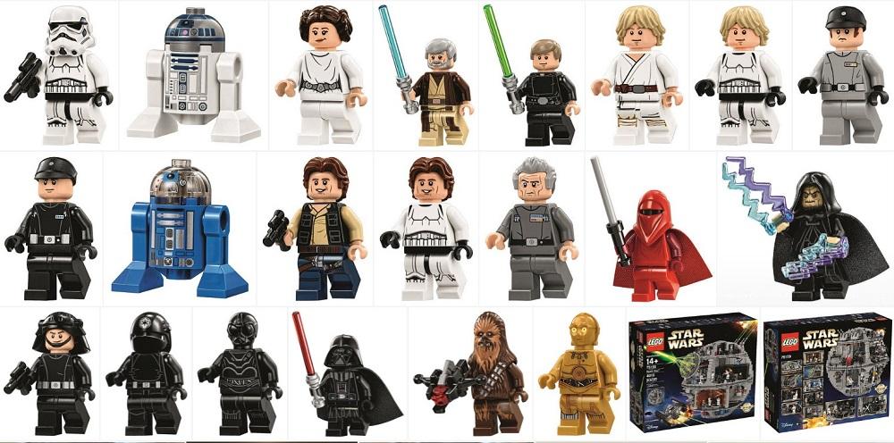 Lego 75159 Death Star Minifigures