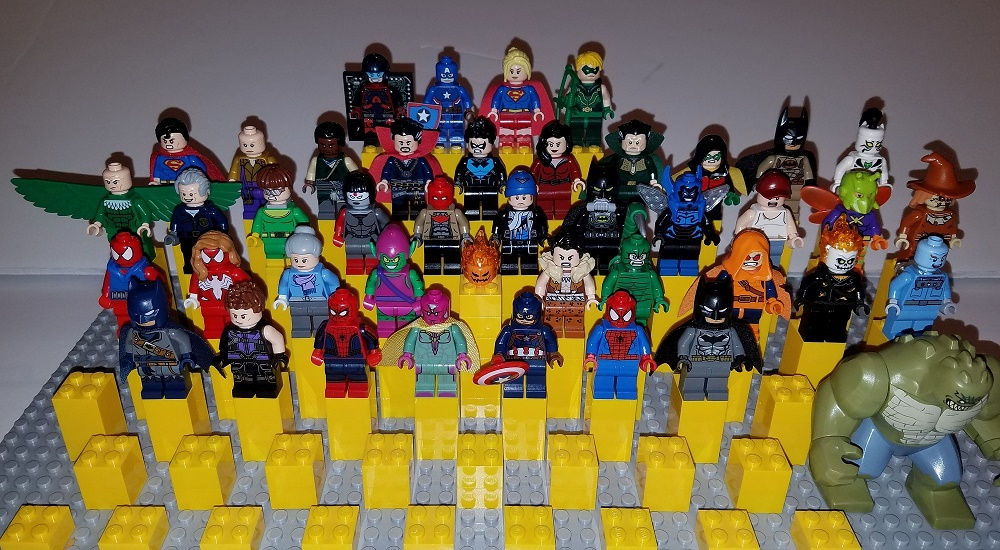Lego DC and Marvel Summer 2016 Minifigures Image - Copy