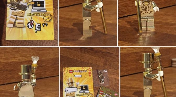 Lego MR Gold 1886 in the UK for $1250 US
