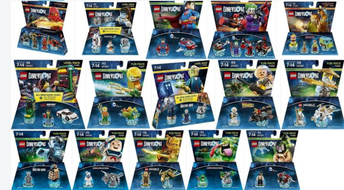 A Large Lot of Lego Dimensions Wave 1 sets up to 80% off on Amazon ...