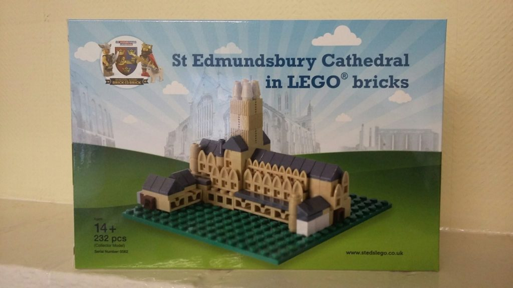 Lego Certified Professional St Edmundsbury Cathedral Official Box