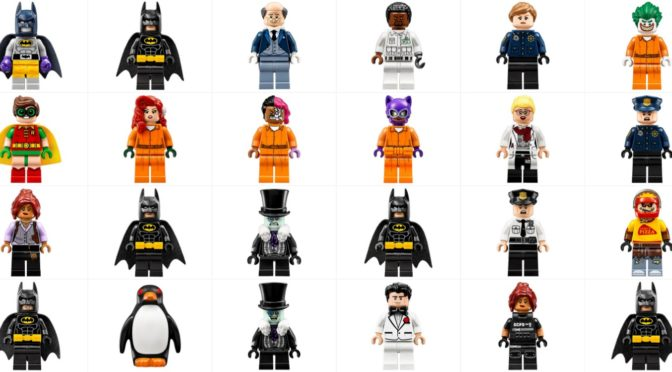 65 Hi Resolution Lego Batman Movie Minifigures From Sets