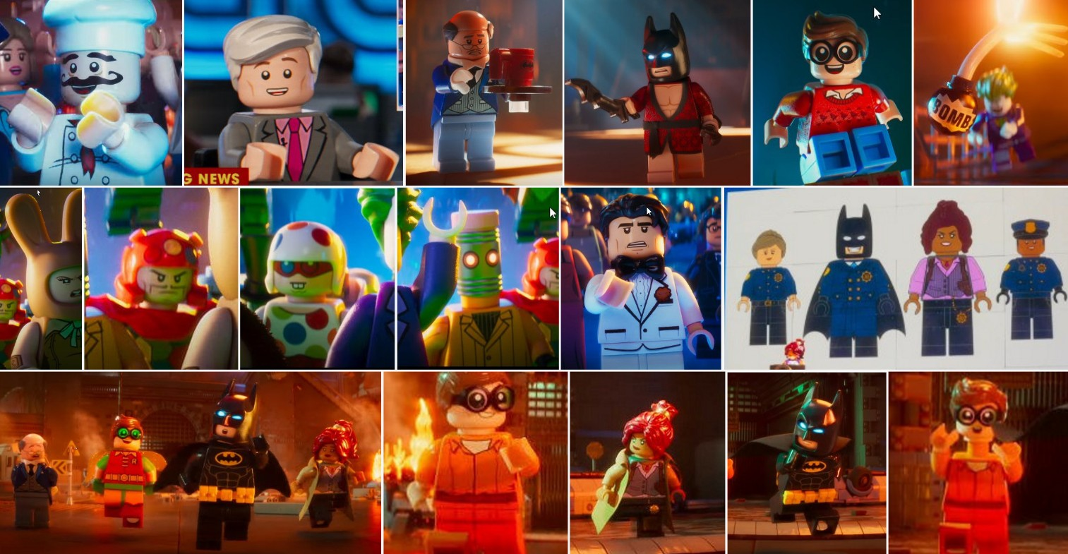 We See Some New Villians In The Lego Batman Movie Trailer Including A First Look At Eraser Minifigure Price Guide