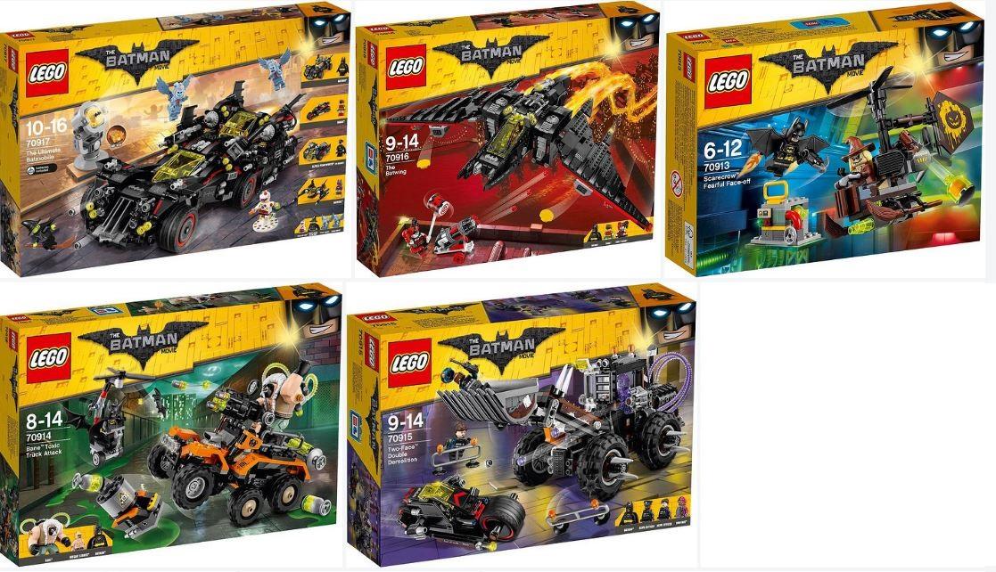 Wave II of the Lego Batman MOvie Sets Official Box Art ... Lego Batman 2 Sets