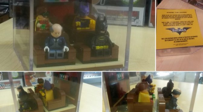 Lego Batman Movie Promotional Cube – limited and hard to find – Anyone know more about this set?