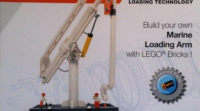 JLA Loading Technologies Lego Certified Professional  Marine Loading Arm from Amazings