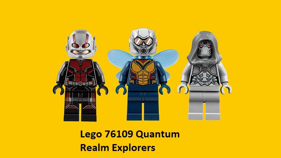 LEGO Marvel Avengers Ant-Man QUANTUM REALM EXPLORERS 76109 New*Sealed*Retired