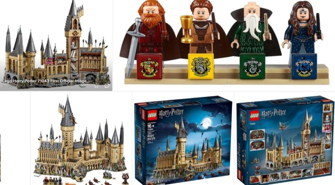 Lego Harry Potter Hogwarts Castle 71043 First Official Images 4