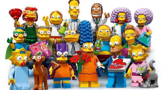 Choisissez Votre Character 16 Modèles Lego The Simpsons Mini Figurines