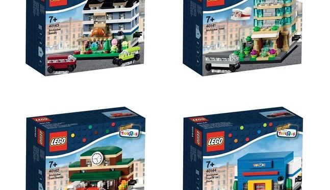 4 NEW /& SEALED LEGO Bricktober Sets 40141 40142 40143 40144