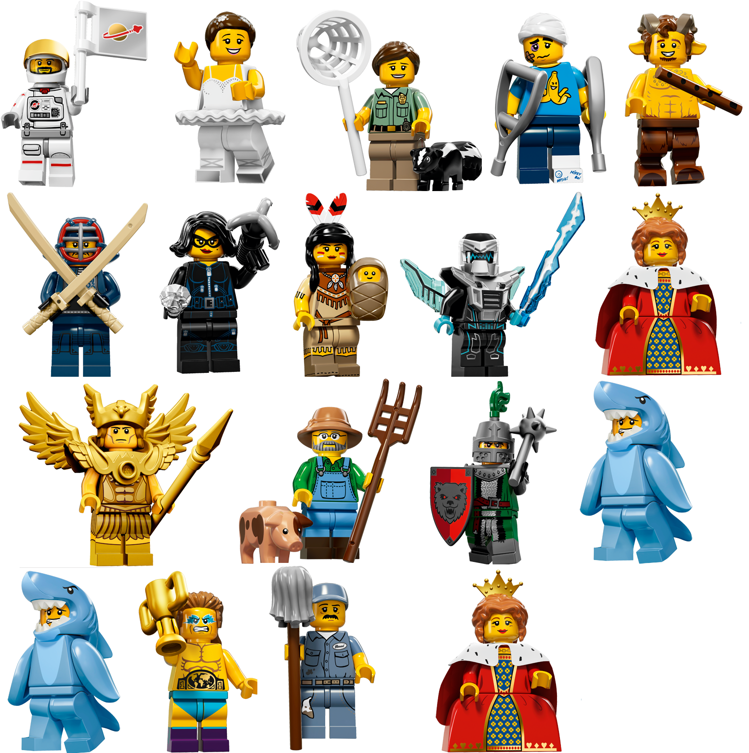 Lego for Minifigure Series 15 Bios are online now Minifigure