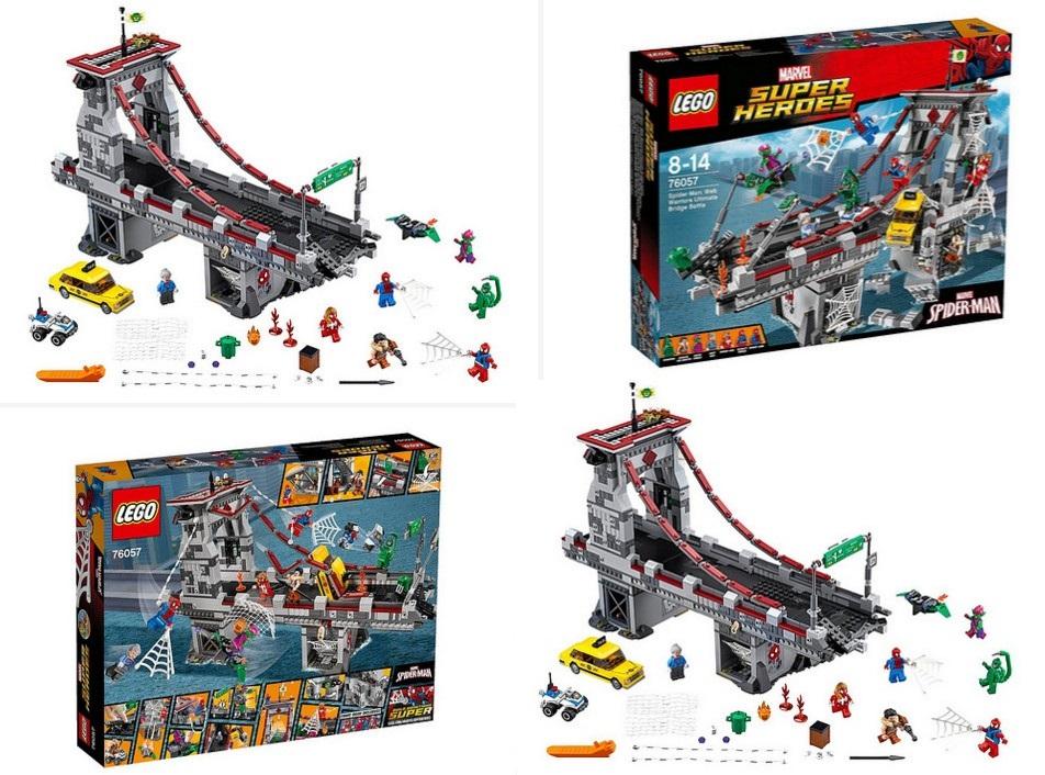 Lego Spiderman Bridge Battle 2016 - The Best Bridge 2017