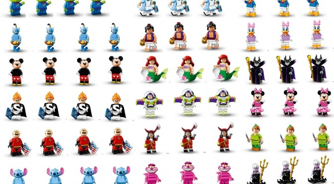 "~ /""MICKEY MOUSE/"" ~ SEALED PACK 71012 2016 LEGO MINIFIGURES DISNEY SERIES"