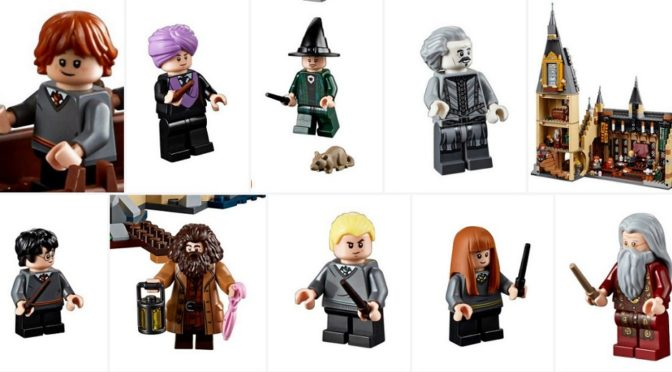 Harry Potter 2018 Lego Harry Potter Minifigure BRAND NEW from 75954