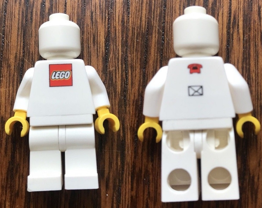 Lego Employee business card Jesper Aaby Poulsen minifigure
