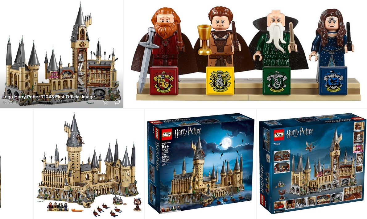 Lego Harry Potter Hogwarts Castle 71043 First Official Images 4 Minifigures And 30 Microfigures Minifigure Price Guide